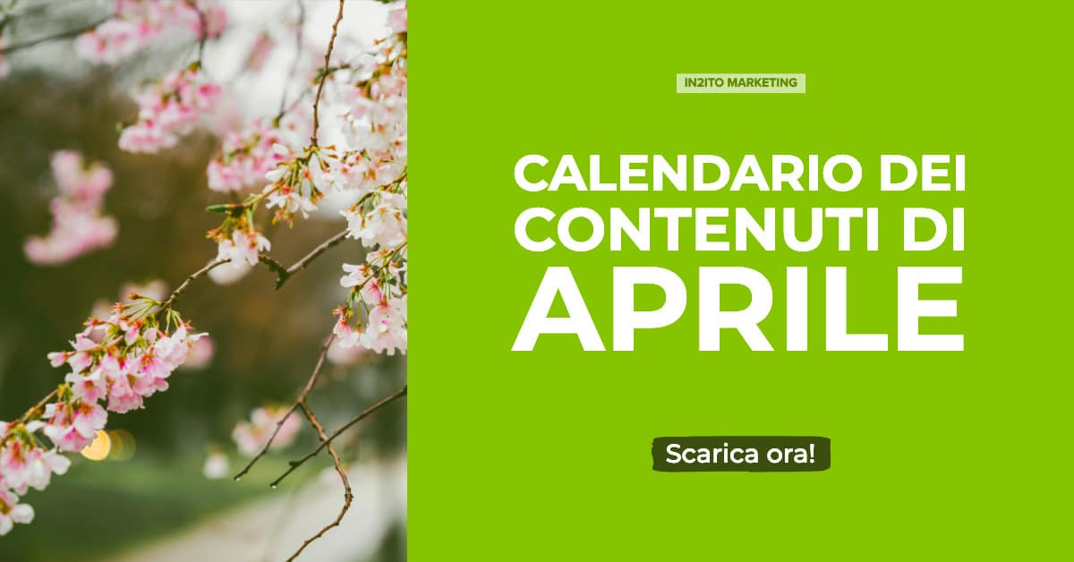 Calendario Di Aprile.Calendario Contenuti Di Aprile Intuito Tailored Marketing