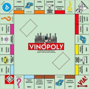 Vinopoly:la versione enogastronomica del famoso gioco da tavola ideata da In2ito Marketing