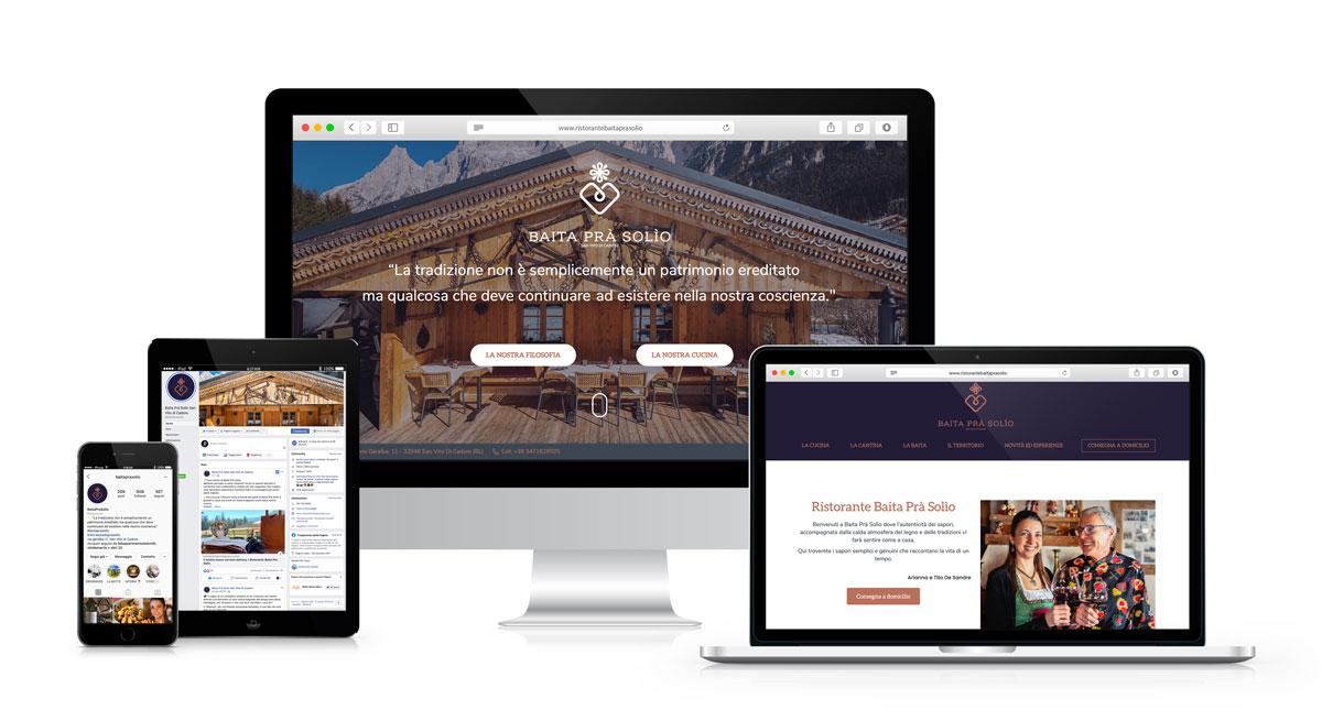 Ristorante Baita Prà Solìo - San Vito di Cadore - Web Marketing e Coaching