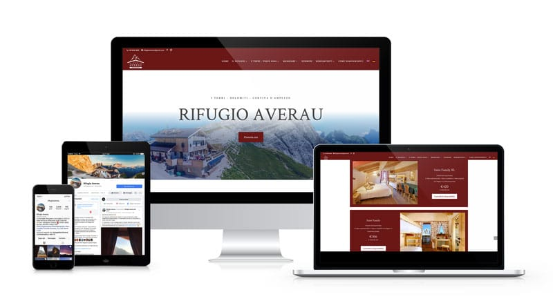 Digital Strategy e Web Marketing Rifugio Averau Cortina d'Ampezzo